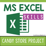 Excel Skills Project - Candy Store