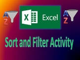 Excel Sort and Filter Activity