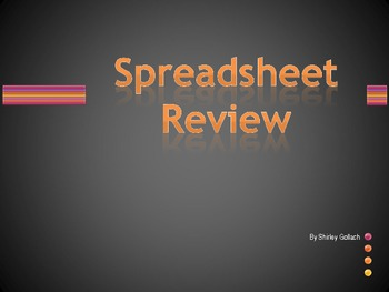 Excel Spreadsheet Review