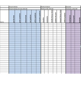 Excel Spreadsheet for Guided Reading Planning,Instruction & Assessment!