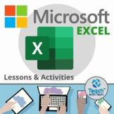 Excel Lesson Activities 2016 2013 & 2010
