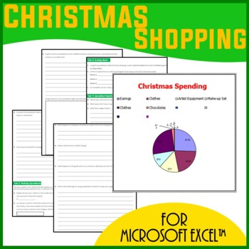Excel Spreadsheets  - Christmas Shopping List