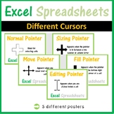 Excel Spreadsheets - Different Cursor Meanings