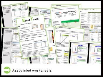 Microsoft Excel Spreadsheets - The Entire Second Lesson Plans Bundle