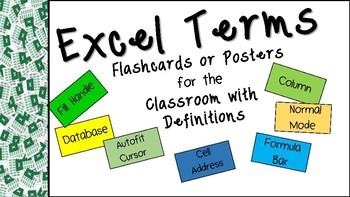 Microsoft Excel Terms and Definitions