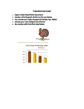 Excel Thanksgiving Chart