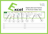 Excel - Spreadsheets Toolbar