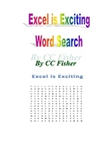 Excel is Exciting Word Search