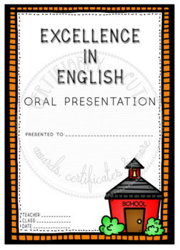 Excellence in English Oral Presentation