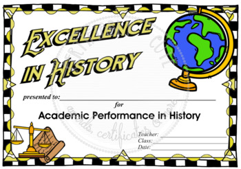 Excellence in History