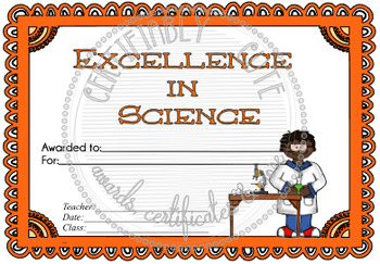 Excellence in Science