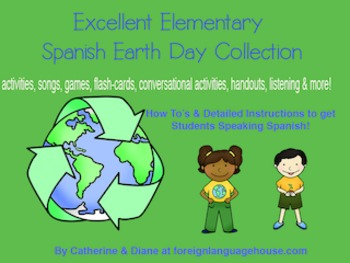 Excellent Elementary Spanish Earth Day Collection