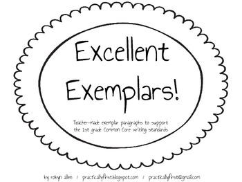 Excellent Exemplars!