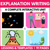 Excellent Explanation Writing Unit ( Self Directed Digital