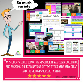 Excellent Explanation Writing Unit ( Self Directed Digital & Print Modules )