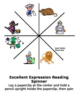 Excellent Expression Reading Spinner