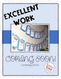 Excellent Work COMING SOON posters