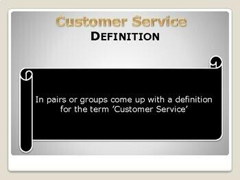 Exceptional Customer Service Skills