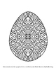 Exceptional Easter Eggs 10 Page Coloring Book