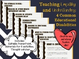 Exceptional Education PD - Empathy and Understanding: 4 Co