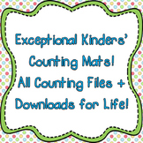 Exceptional Kinders' Counting Mats Bundle