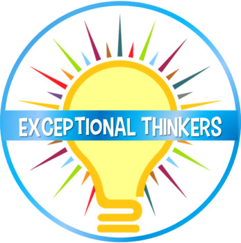 Exceptional Thinkers Logo Button