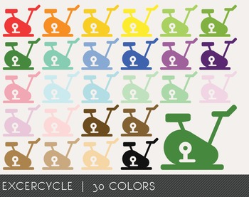 Excercycle Digital Clipart, Excercycle Graphics, Excercycle PNG