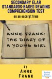 Excerpt from Anne Frank: The Diary of a Young Girl by Anne Frank Reading Test