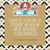 """Excerpt from """"Once Upon A Time When We Were Colored"""" by Cl"""