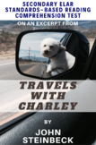 Excerpt from Travels with Charley Autobiography by John Steinbeck Reading Test