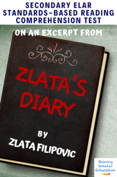 Excerpt from Zlata's Diary Multiple-Choice Reading Comprehension Quiz/Test