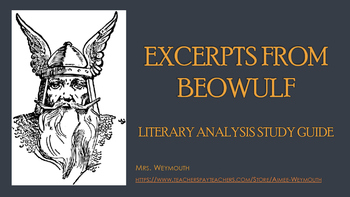 Excerpts from Beowulf: Literary Study Guide