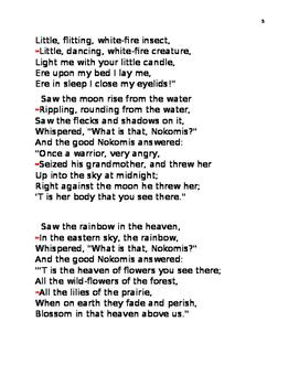 Hiawatha's Childhood by Longfellow
