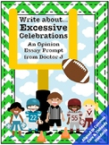 Excessive Celebrations in Football NFL Opinion Essay Common Core TNReady Aligned