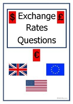 Math - Exchange Rate Questions - Proportion - Ratio