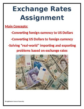 Exchange Rates Assignment