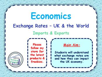 Exchange Rates - How Exchange Rates Impact an Economy - UK & World