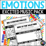 Emotions in Music, Excited Listening Activities, Classical Music