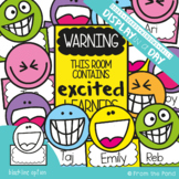 Excited Learners Bulletin Board Set