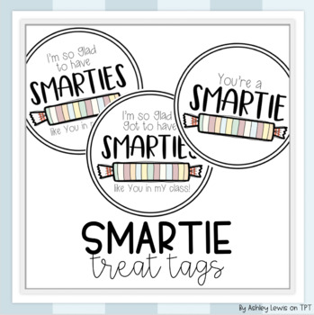 Excited to Have Smarties Like You... Back to School Night Handout