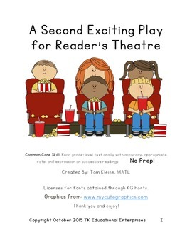 Exciting Animal Reader's Theatre Play - Felix Throws a Sur
