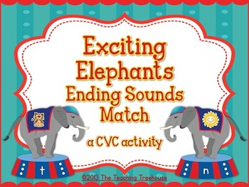 Circus Final Sounds Activity