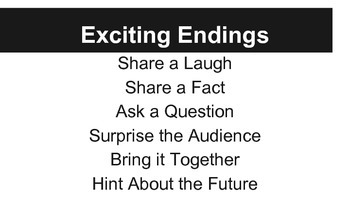 Exciting Endings Grade 3