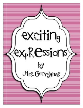 Exciting Expressions {Number Sense}