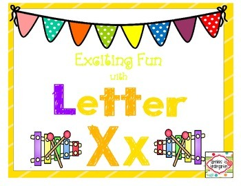 Exciting Fun with Letter Xx:  Xx Activities