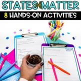States of Matter Activities to Teach Properties of Solid Liquid Gas