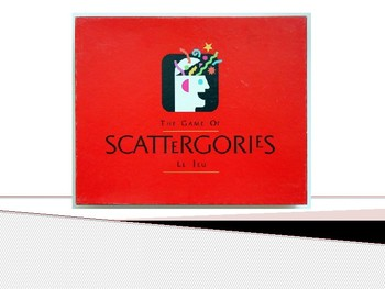 Exciting Scattegories Game