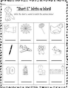 "Exciting ""Short E"" Activities for Beginning Readers!"