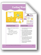 Exciting Words (File Folder Center)