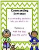 Exclaiming, Asking, Commanding, & Telling Sentences Bundle